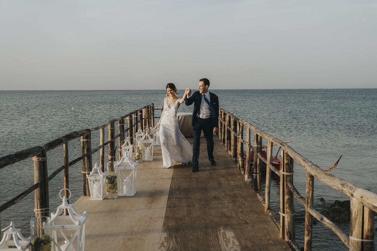 Matrimonio In Spiaggia Al Lido Baiamuri23