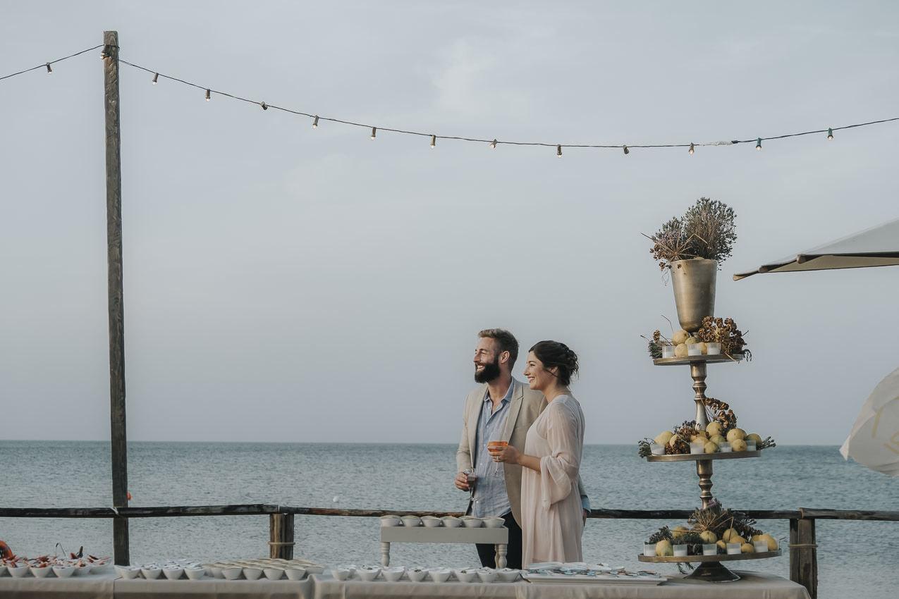 Matrimonio In Spiaggia Al Lido Baiamuri30