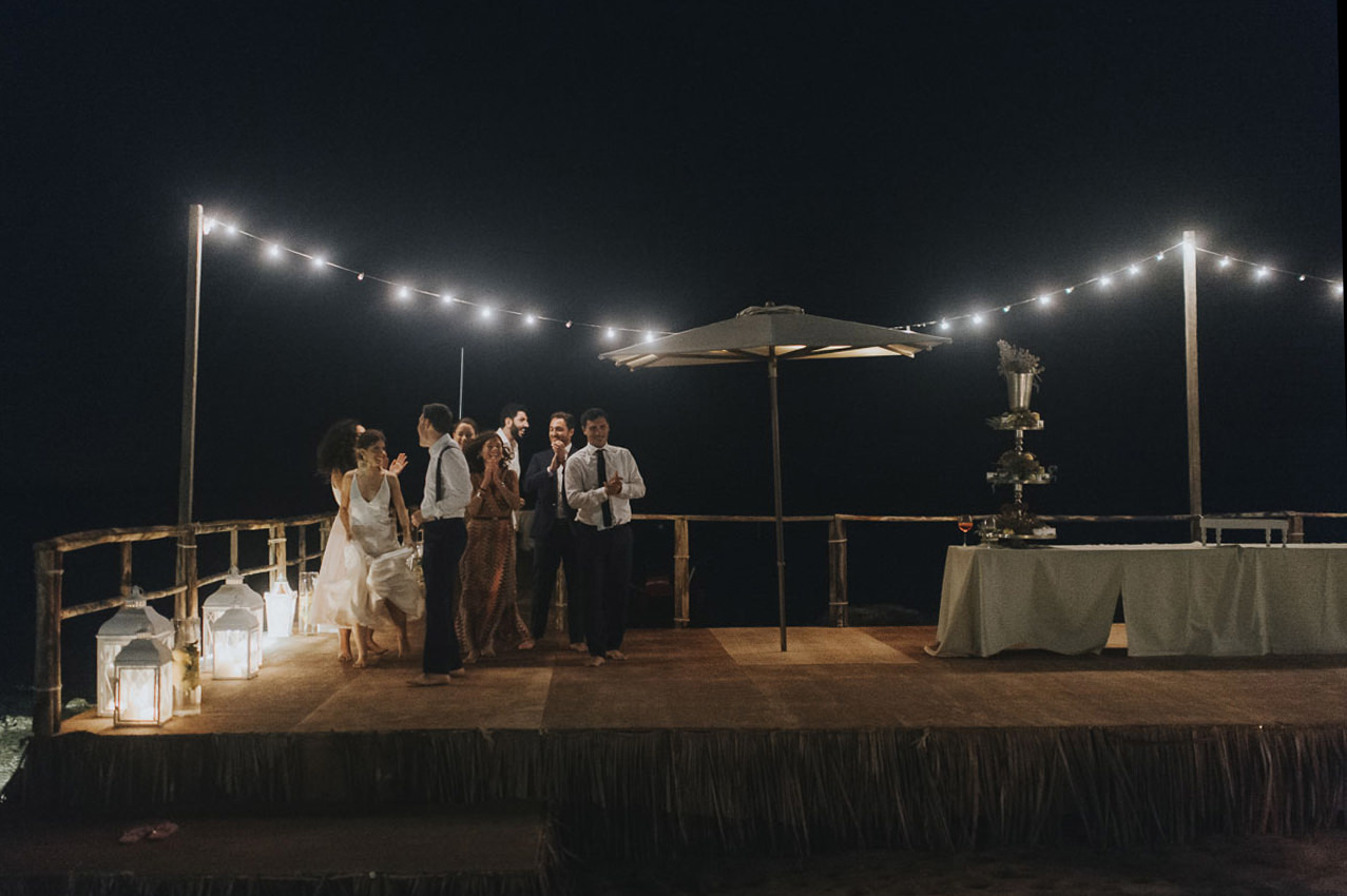 Matrimonio In Spiaggia Al Lido Baiamuri40