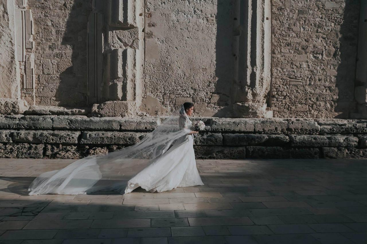 Sposa Al Duomo Di Siracusa