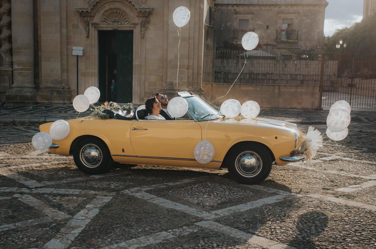 Sposi In Auto A Siracusa